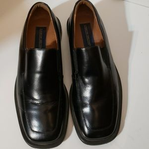 Giorgio Brutini Black Leather Dress Shoes